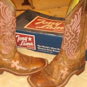 Tony lama women's 8.5 boots
